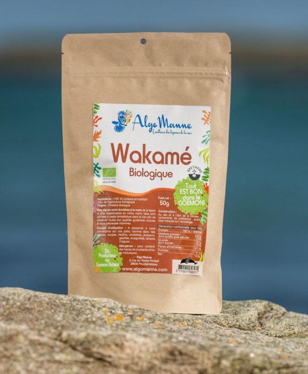 Wakamé bio - algues