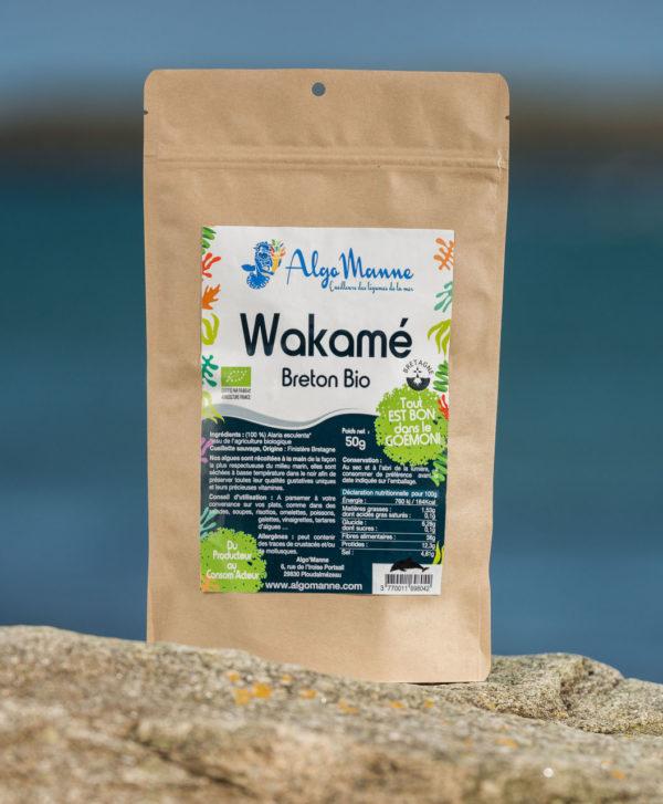 Algues Wakamé breton bio